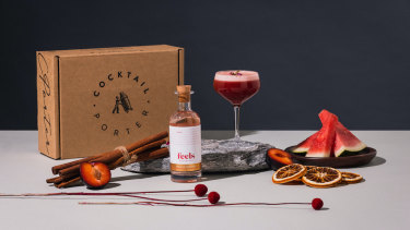 Cocktail Porter's watermelon cosmo kit.