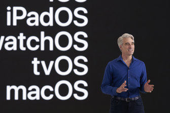 Apple's Craig Federighi said in court that allowing software from outside the App Store made Macs less secure.