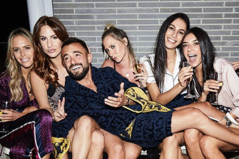 Eastern suburbs real estate agent Gavin Rubinstein has cultivated a mass following on Instagram.