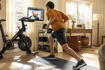 There are a wide range of exercises both on and off the bike.