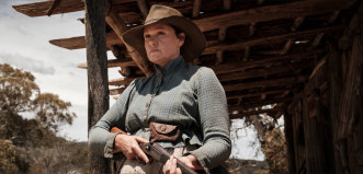 """""""My mother came from a generation of Aboriginal women that weren't given a voice"""": Leah Purcell in <i>The Drover's Wife: The Legend of Molly Johnson</i>."""
