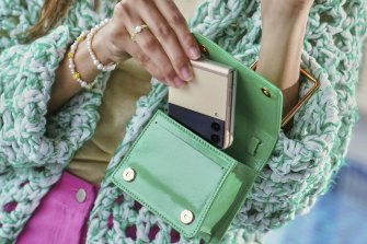 Finally, a powerful phone that fits in the most ridiculous of handbags.