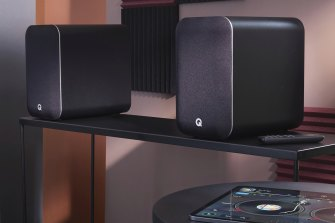 The M20s are great music speakers, both over wireless streaming and from connected devices.